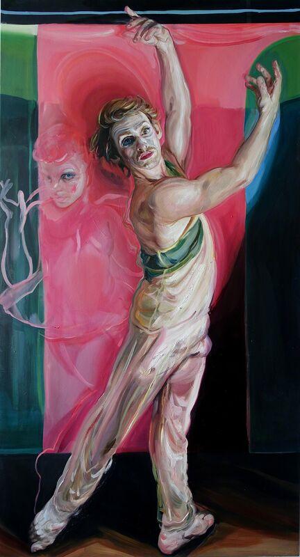 Natalie Frank, 'Dancer III', 2017, Painting, Oil on canvas, Rhona Hoffman Gallery