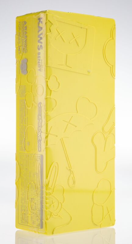 KAWS, 'Bendy (Yellow)', 2003, Sculpture, Painted cast vinyl, Heritage Auctions