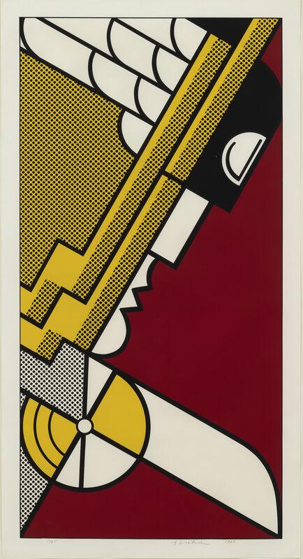 Roy Lichtenstein, 'Salute to Aviation', 1968, Print, Screenprint, Susan Sheehan Gallery