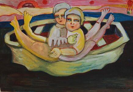 Mirka Mora, 'Montgolfiers', 1985