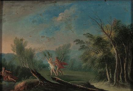 Italian School, 18th Century, 'Apollo and Daphne'