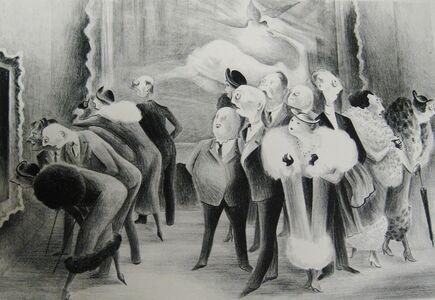 """Adolf Arthur Dehn, '""""Art Lovers""""', 1934"""