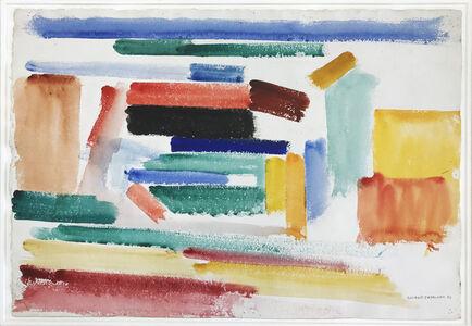 Giorgio Cavallon, 'Abstraction with Red, Green &Orange'