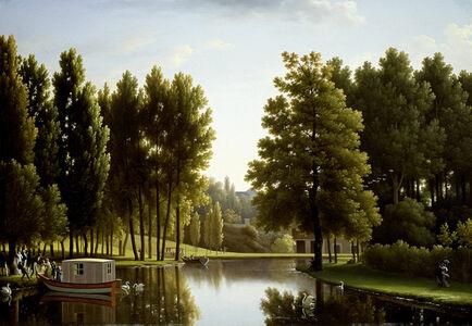 Jean Joseph Xavier Bidauld, 'The Park at Mortefontaine', 1806