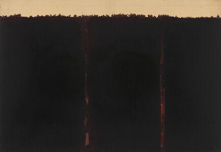 Yun Hyong-keun, 'Burnt Umber & Ultramarine', 1990-1991