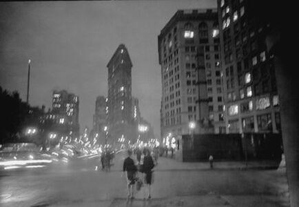 David Vestal, 'Flatiron Building, Night, from 26th Street, NYC', 1963