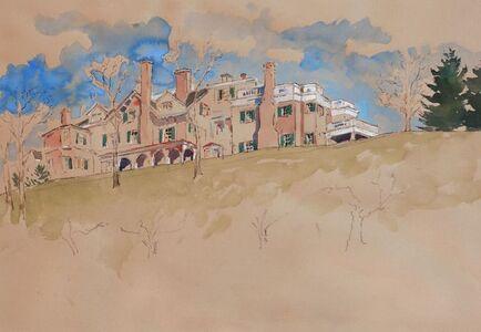 Adam Van Doren, 'Hyde Park from Below (Franklin D. Roosevelt)', 2015