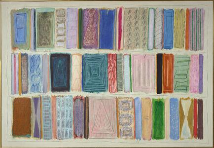 Ida Kohlmeyer, 'Color Stripes', 1980