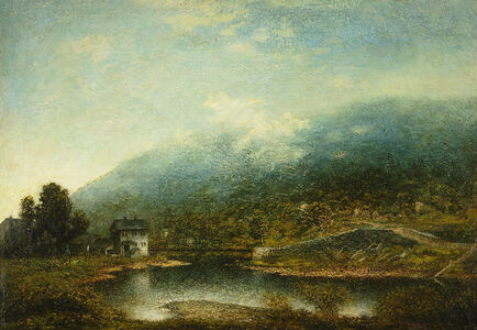 Ralph Albert Blakelock, 'Hawley, Pennsylvania', Late 19th century