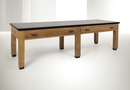 Giuseppe Pagano Pogatschnig, 'a table in placquered buxus wood and polished wood', 1929