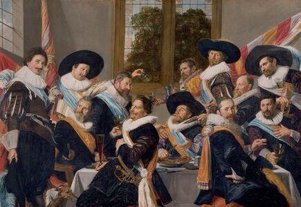 Frans Hals, 'Officers of the Haarlem Militia Company of Saint Adrian', ca. 1627