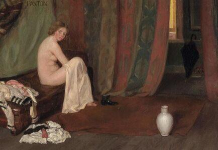 William McGregor Paxton, 'In the Artist's Studio'