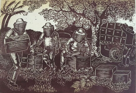 Andrea Pro, 'The Beekeepers', 2017