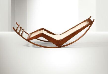 Franco Albini, 'a chaise longue rocking chair', ca. 1940