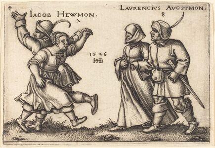 Sebald Beham, 'July and August', 1546