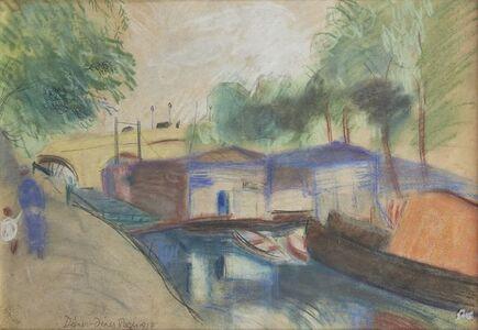 Rudolf Diener-Denes, 'Un canal (a Canal), Paris', 1927