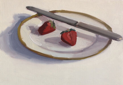 Carrie Mae Smith, 'Strawberries with Butter Knife', 2018