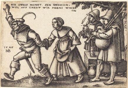 Sebald Beham, 'The Year's End', 1546