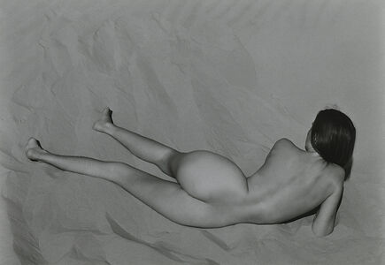 Edward Weston, 'Nude (Charis on Dunes), Oceano', 1936