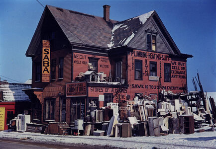 Jack Delano, 'Brockton Mass. 2nd Hand Plumbing Store, December 1940', 1940