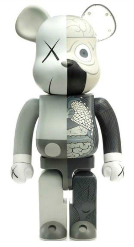 KAWS, 'KAWS DISSECTED COMPANION: 1000% BE@RBRICK GREY', 2010, Sculpture, Vinyl, Marcel Katz Art