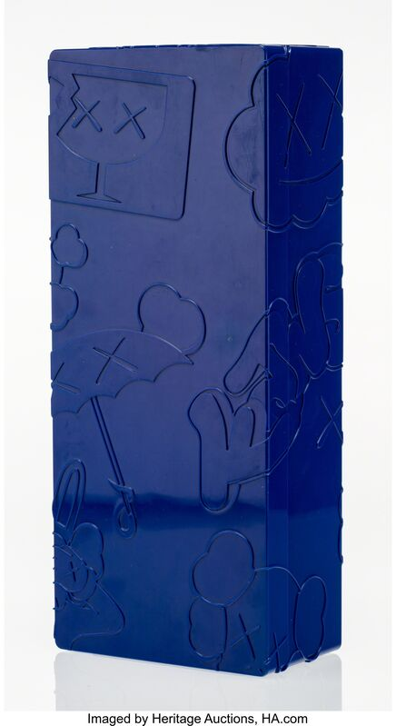 KAWS, 'Bendy (Blue)', 2004, Other, Painted cast vinyl, Heritage Auctions