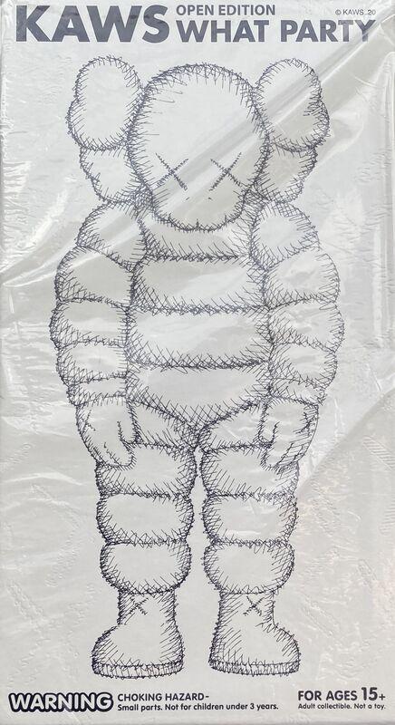KAWS, 'KAWS WHAT PARTY set of 2 works (KAWS Companion) ', 2020, Sculpture, Painted Vinyl Figures, Lot 180