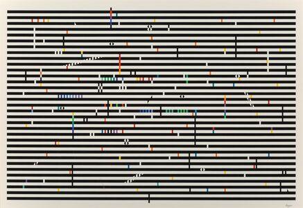 Yaacov Agam, 'Double Metamorphisus IV', c. 1979