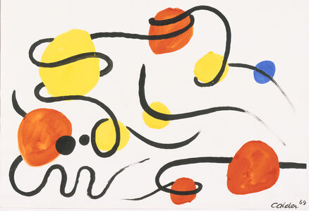 Alexander Calder, 'Points et Volutes', 1969
