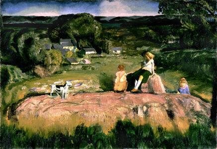 George Wesley Bellows, 'Three Children', 1919