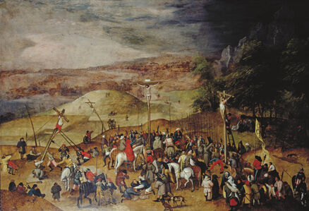 Pieter Bruegel the Younger, 'The Crucifixion', 1610