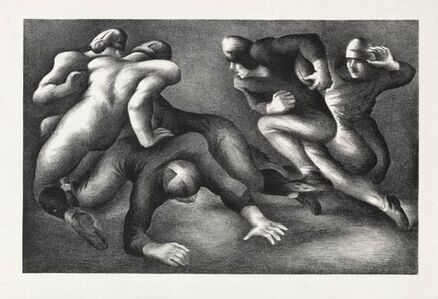 Benton Spruance, 'A Short Gain', 1936