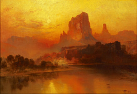 Thomas Moran, 'The Golden Hour', 1875
