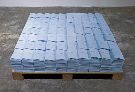 Meriç Algün Ringborg, 'Ö (The Mutual Letter)', 2011