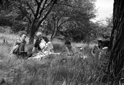 Pedro E. Guerrero, 'Picnic #1, Taliesen, Spring Green, Wisconsin Frank Lloyd Wright', 1940