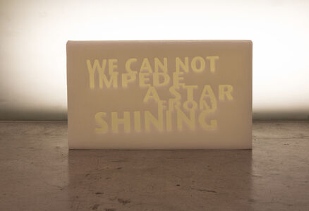 Amina Zoubir, 'We can not impede a star from shining', 2019