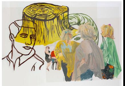 Elena Blasco, 'Tronco amarillo', 2007