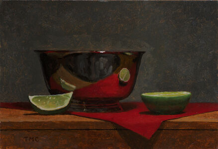 Todd M. Casey, 'Bowl with Limes', 2018