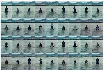 Song Dong, 'Printing on Water (Performance in the Lhasa River, Tibet, 1996) 印水', 1996