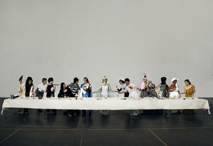 Funa Ye, 'The Supper of Goddess', 2015
