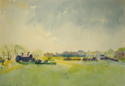 Charles Webster Hawthorne, 'The Pasture, Provincetown', 1927-1930