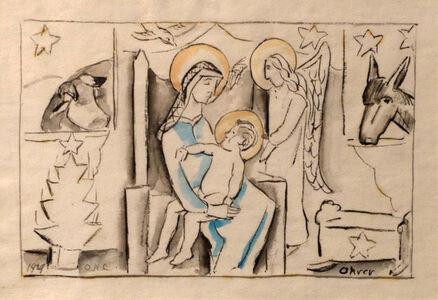 Oliver Chaffee, 'Christmas', 1929