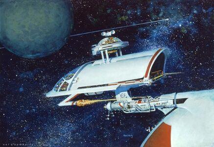 Don Maitz, 'Empire Fleet Transport', 1977