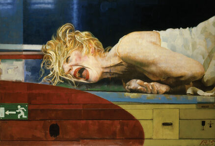Xenia Hausner, 'Out of Breath I', 2005