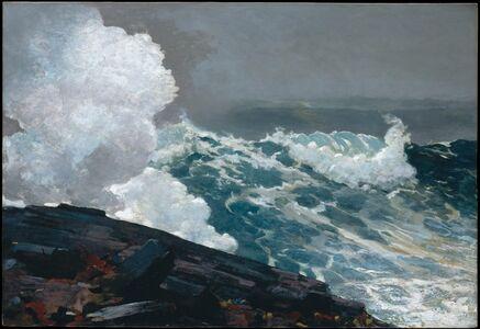 Winslow Homer, 'Northeaster', 1895–1901