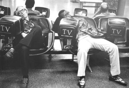 Leora Miller, 'Alone Between Buses', 1985