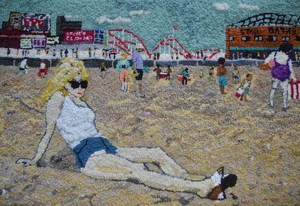 Mary Tooley Parker, 'Debbie Harry at Coney Island 1977', 2020