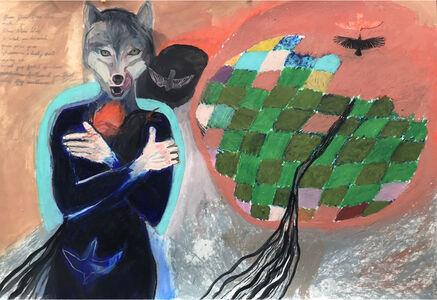 Suzy O'Mullane, 'Green Fields', 2020