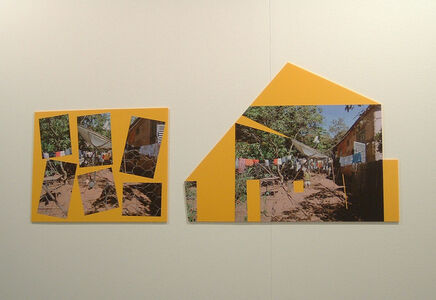Sergio Vega, 'Every shanty leads to Derrida, series – Diptych, meta-schemes with antenna (a-chickens) (b-boy)', 2007