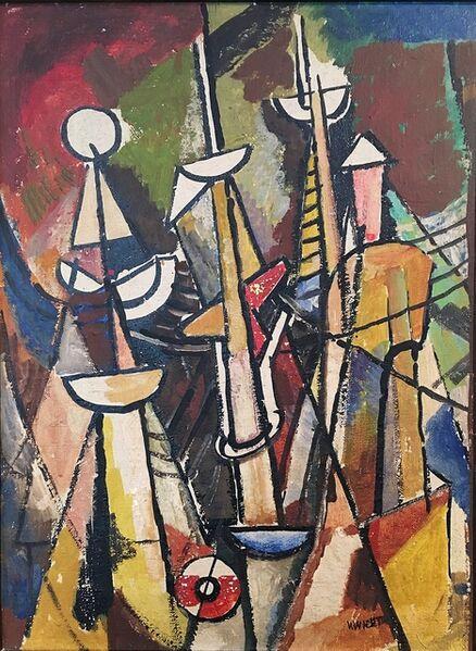 John Von Wicht, 'On Upper Deck', 1949